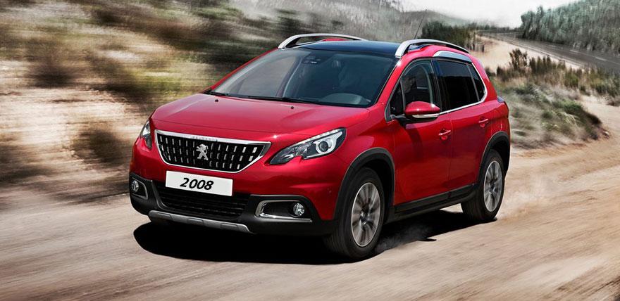Peugeot 2008 (Gl. model)