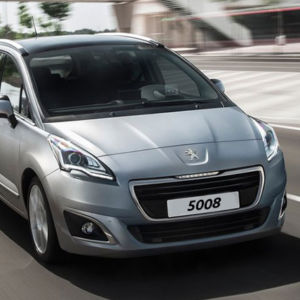 Peugeot 5008 (Gl. model)